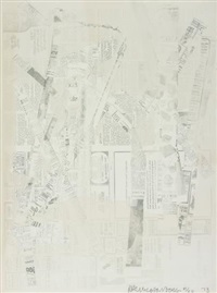 untitled, from hommage à picasso by robert rauschenberg