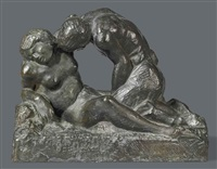la nymphe violée by raymond duchamp-villon