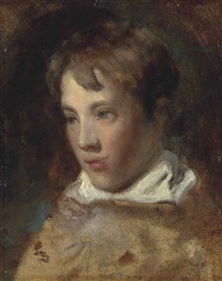 portrait of one of the artist's sons, traditionally identified as john charles constable (1817-1841) by john constable