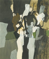 study with figures (study) by keith vaughan