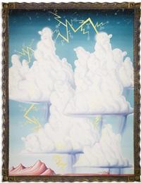 cumulonimbliss by kenny scharf
