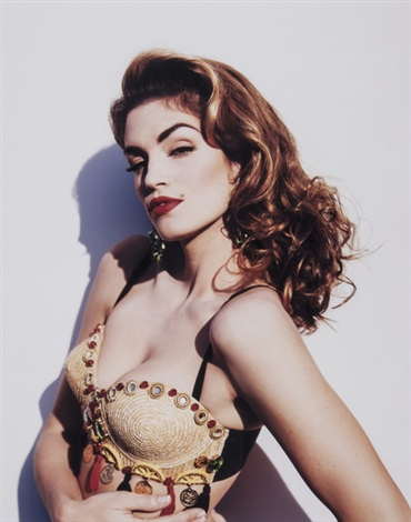 cindy crawford vanity fair by michel comte