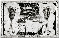 nazi war cave #1 by mike kelley