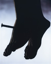 holy works: the nail by andres serrano