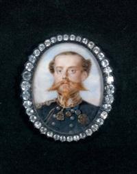 portrait de victor emmanuel ii, dernier roi de sardaigne by luigi gandolfi