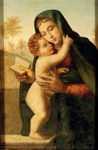 the madonna and child by giuliano bugiardini