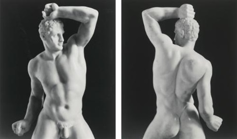 selected wrestlers 2 works by robert mapplethorpe