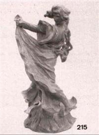 una joven vestida by lambert escaler mila