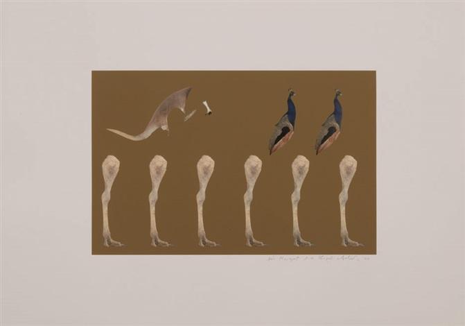 the skeleton : shaking the foundations (variation 1 à 8) (portfolio of 8) by thomas grünfeld