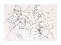 figurenstudie (figure study) by sigmar polke