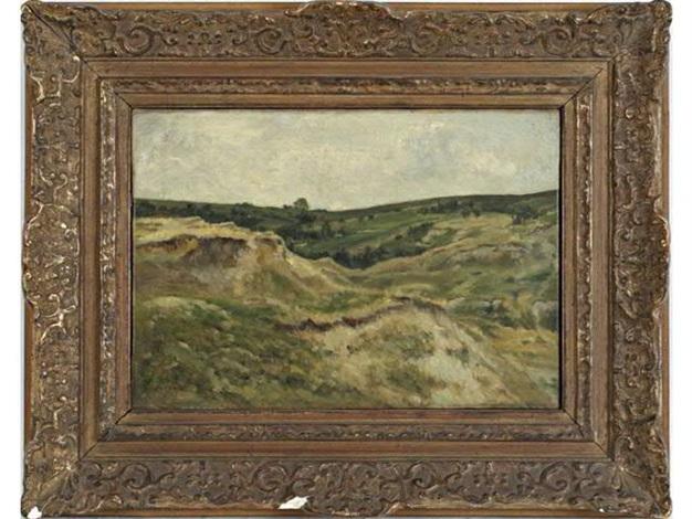 paysage vallonné by stanislas lépine