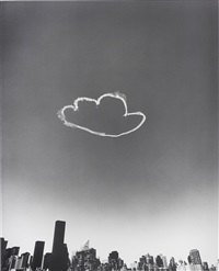 cloud cloud, manhattan (from pictures of clouds) by vik muniz