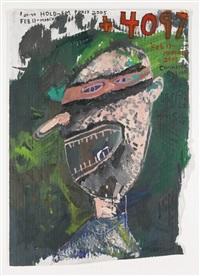 poker face (4,097) by mark grotjahn