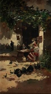 el escribano by eugenio lucas villamil