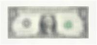 untitled (dollar bill) by tom friedman