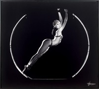 crazy ! logo ou la danseuse du crazy by pierre-anthony allard