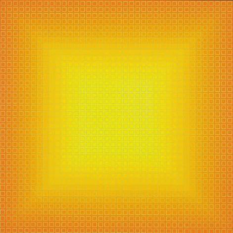 filtration orange by julian stanczak