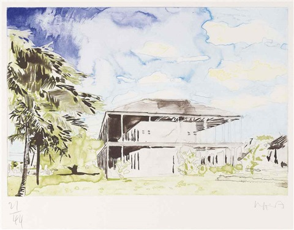 nine etchings portfolio of 9 by hurvin anderson