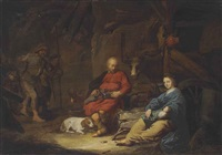 the adoration of the shepherds by david ryckaert iii