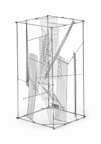 estructura geométrica by león ferrari