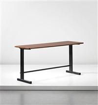 cité desk, model no. 500, designed for the bourse maritime, paris by jean prouvé