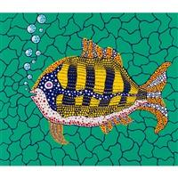 depth of the sea by yayoi kusama