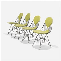 dkrs, set of four by charles and ray eames