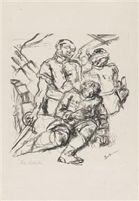 gefallene soldaten by max beckmann