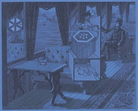 monsieur claude by joseph cornell
