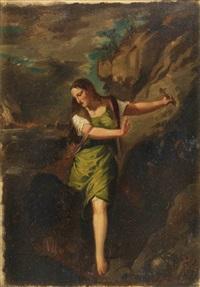 santa margarita by titian (tiziano vecelli)