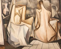 figurative abstraction by turgut atalay