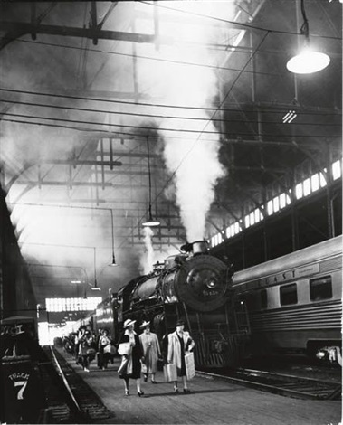 union station by andreas feininger