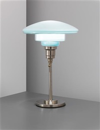 adjustable sistrah table lamp. model no.t4 by c.f. otto müller