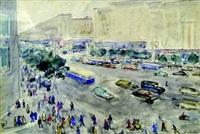 the street by alexandre arkadevich labas