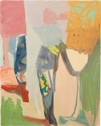 untitled (little threesome) by amy sillman