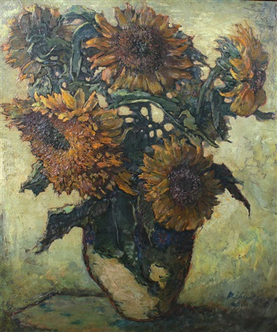 sun flower by lee man fong