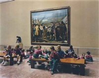 museo del prado i madrid 2005 by thomas struth
