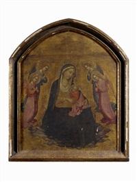 la vierge d'humilité entourée d'anges by agnolo di taddeo gaddi