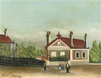 vue d'alfortville by henri rousseau