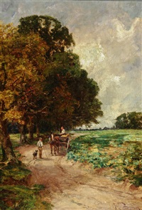 oil on canvas by joseph langsdale pickering