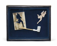 untitled (fanny ward) by joseph cornell