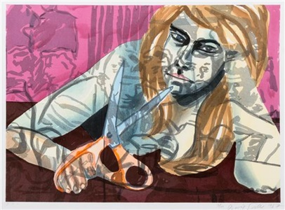 artwork by david salle