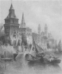 venetian view by carlo chiostri