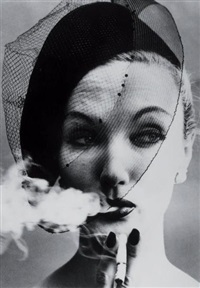 smoke + veil, paris by william klein