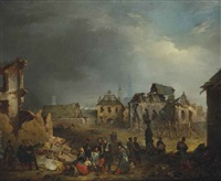 after the bombardment of antwerp in by nicaise de keyser