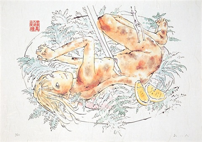 edible artificial girls mi mi chan 8 works by makoto aida