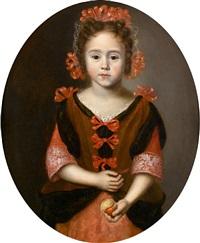 portrait of a young girl by jan van noordt