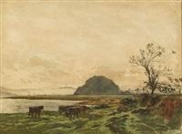 at pittenweem (+ another; 2 works) by william ewart lockhart