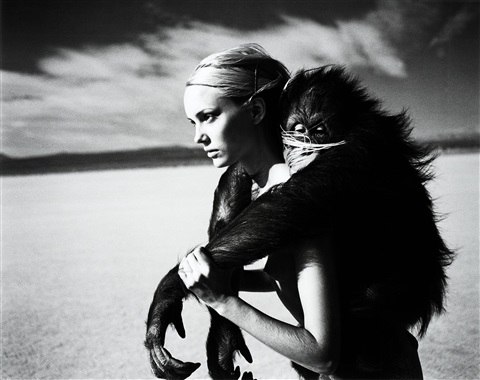 beauty and beast by michel comte