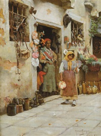 la marchande de jouets by horace fisher
